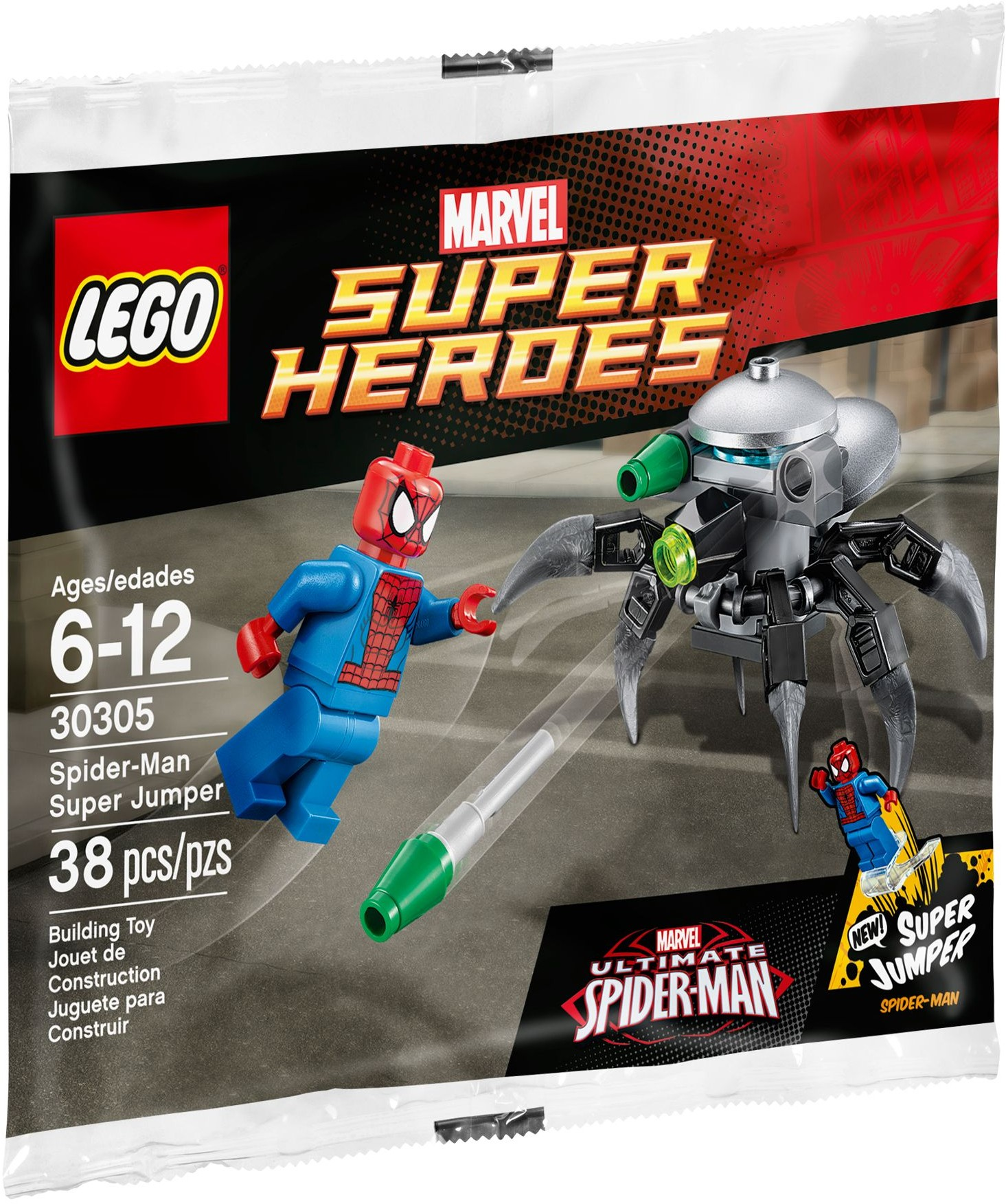 LEGO 30305 - Polybag - Spider-Man Super Jumper