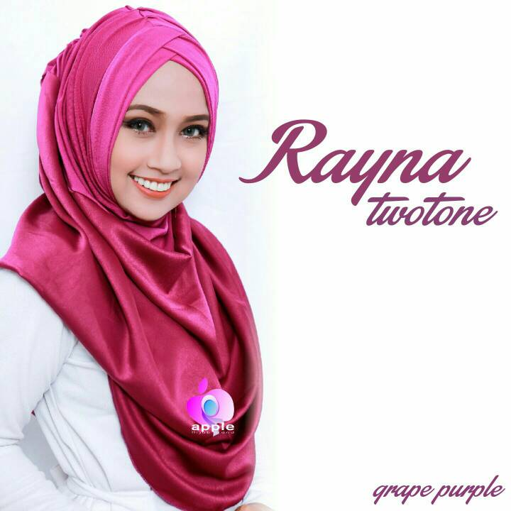 Rayna Two Tone - Rayna Twotone - Rayna Two-Tone By Apple Hijab Brand