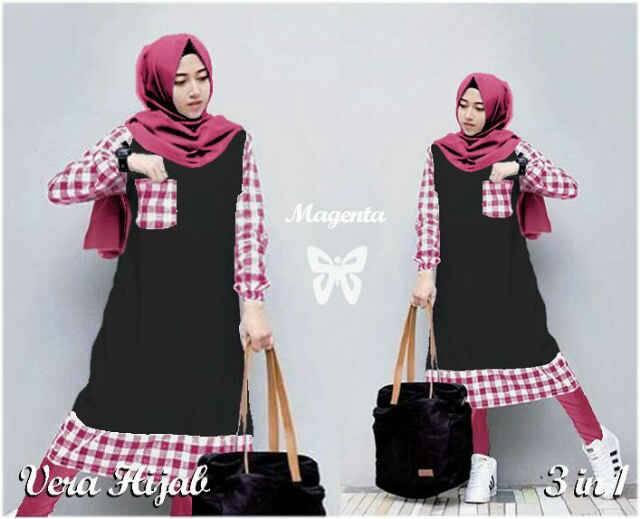 Vera Hijab Magenta