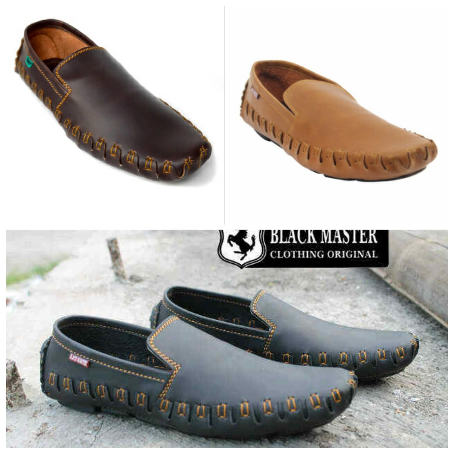 Jual sepatu casual black master original   sepatu kerja pria kulit asli - I  ... 012c3b612b