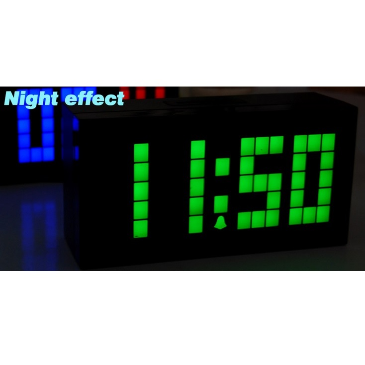 Jual Jam Meja Digital Jumbo LED Wall Clock With