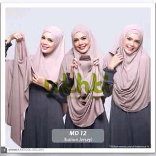 Hijab Instan Munira Good Quality (Hijab Syar'i) Mudah dipakai nya
