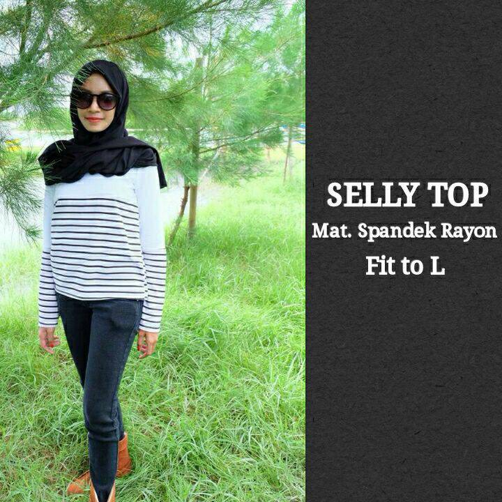 GRANDE HIJAB SOLO: SELLY TOP / SHIRT