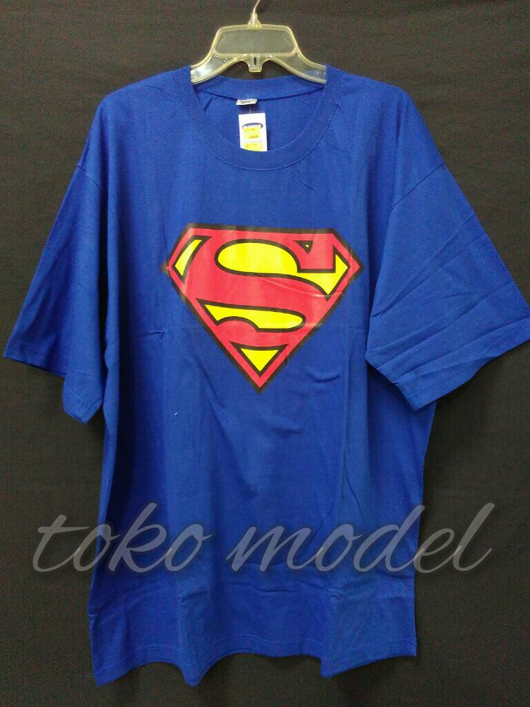 Jual Kaos Big Size Ukuran Besar 4xl Xxxxl Superman Toko Singlet Pria Superhero Model Kembaran Tokopedia
