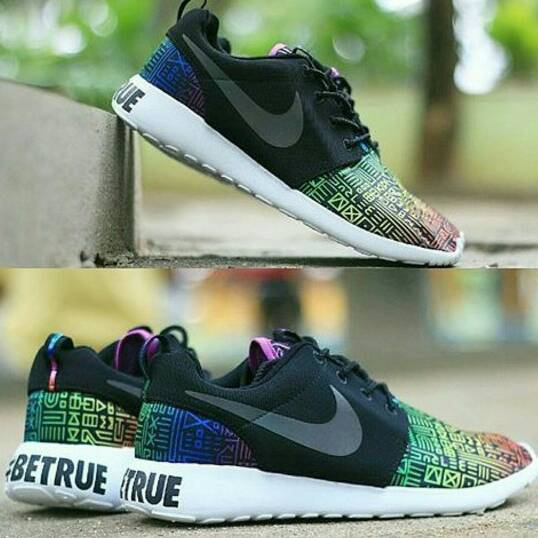 3f6614bebb76 ... best price jual nike roshe run all black nike roshe run be true betrue  premium original ...