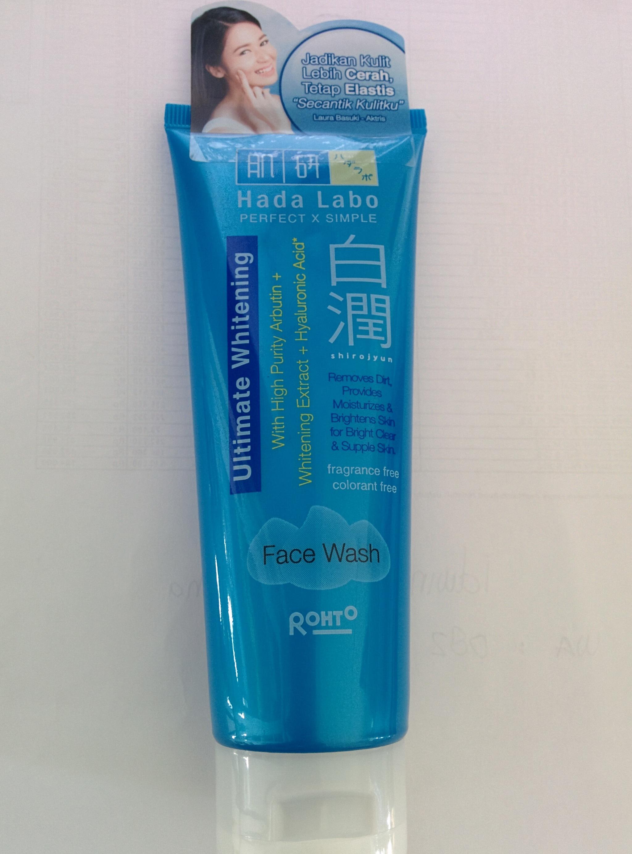 Hadalabo Shirojyun Ultimate Whitening Face Wash 50gr. Source · 2437378_21d5e816-f2a7-4760-a30b-d18f01b7116f.jpg