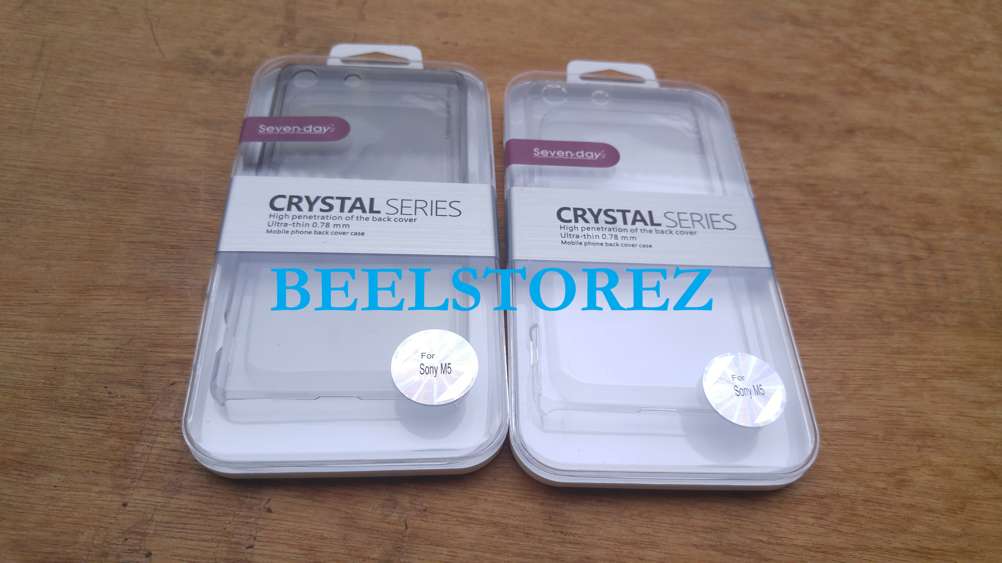 Jual PIPILU CRYSTAL Sony Xperia M5 hard case transparan back cover shell - Beel Storez |