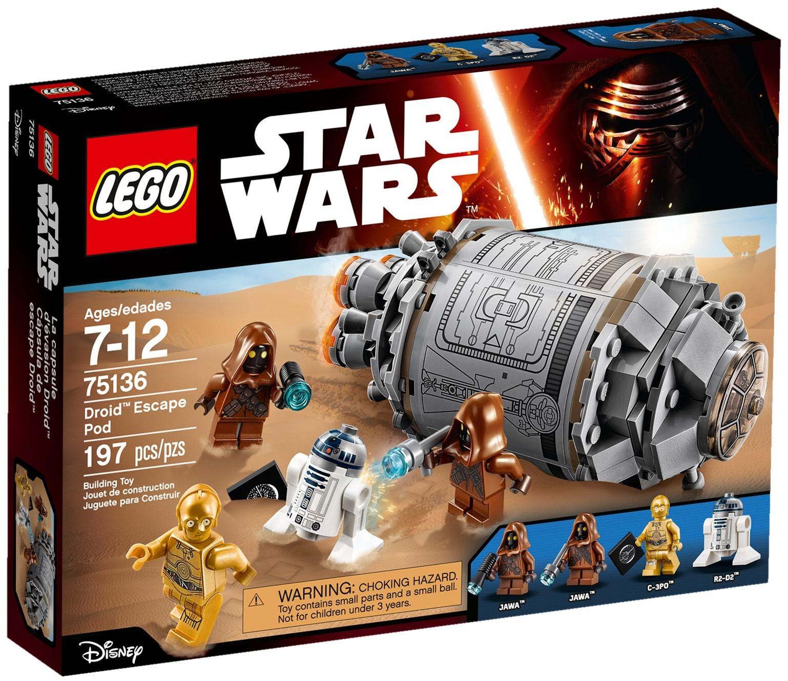 LEGO 75136 - Star Wars - Droid Escape Pod