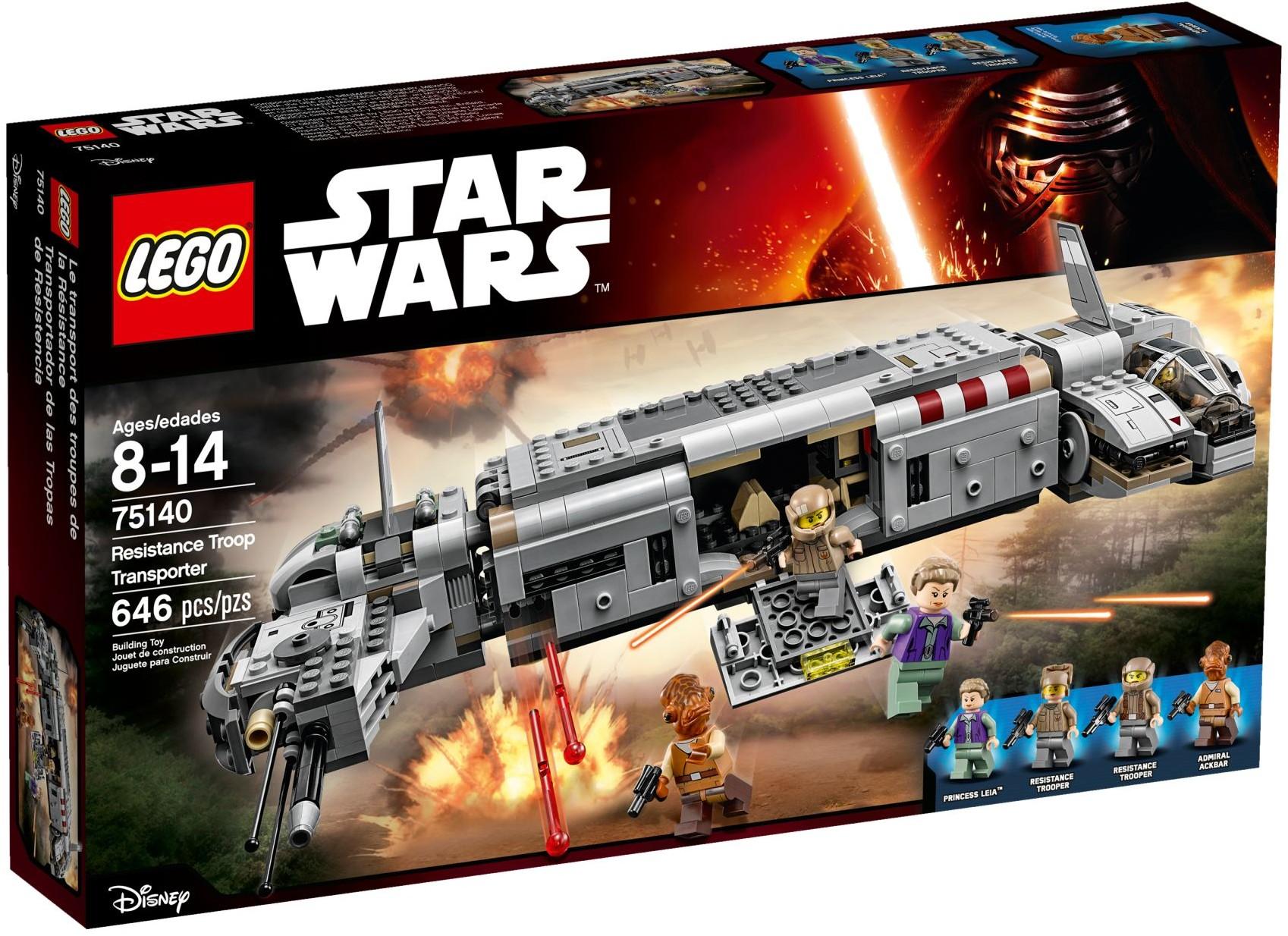 LEGO 75140 - Star Wars - Resistance Troop Transporter