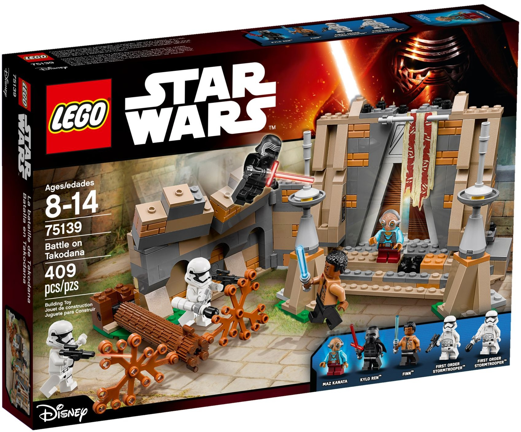 LEGO 75139 - Star Wars - Battle on Takodana