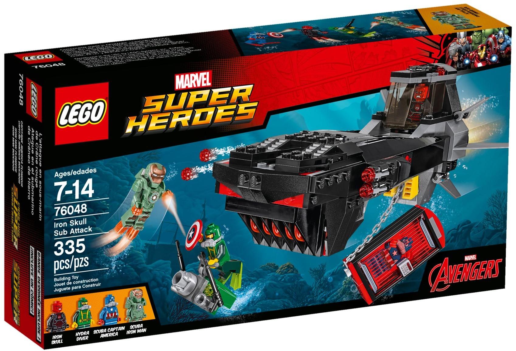 LEGO 76048 - Super Heroes - Iron Skull Sub Attack