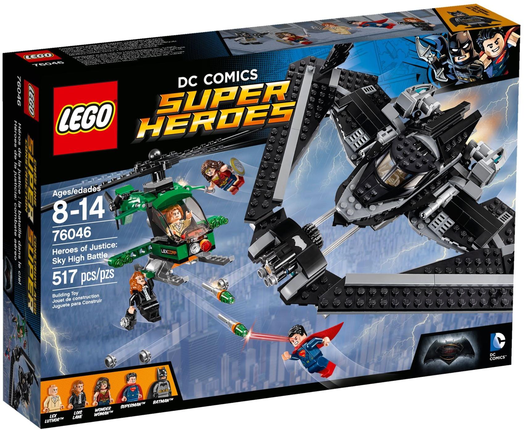 LEGO 76046 - Super Heroes - Heroes of Justice: Sky High Battle