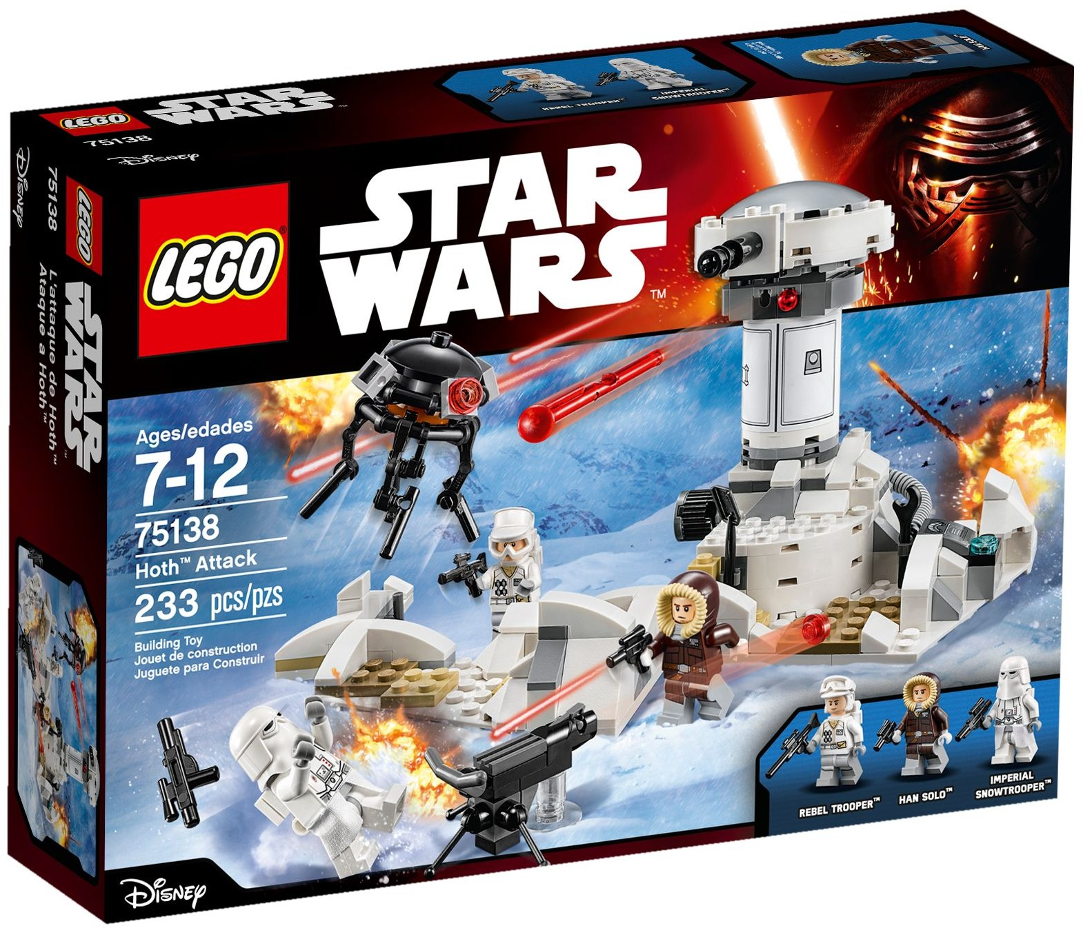 LEGO 75138 - Star Wars - Hoth Attack