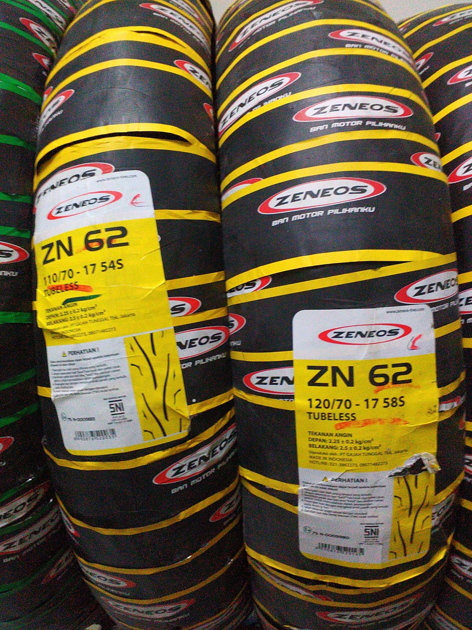 Zeneos Zn 62 Rs 120 Daftar Harga Termurah Dan Terlengkap 75 90 80 14 Ban Motor Tubeless 100 Bandung Jaya Pusat Source Jual 110