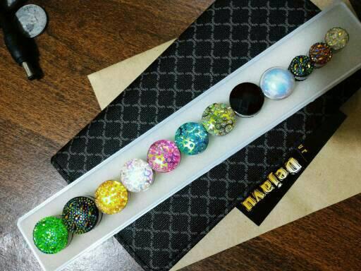 Bross Paket 12's Pin Magnet Jilbab/Kerudung/Hijab Mewah
