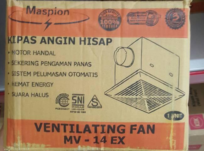harga Maspion - Kipas Angin Hisap Mv - 14ex Blanja.com