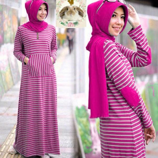 Hijab siffa Fanta ( Maxi +pashmina pad + busui )