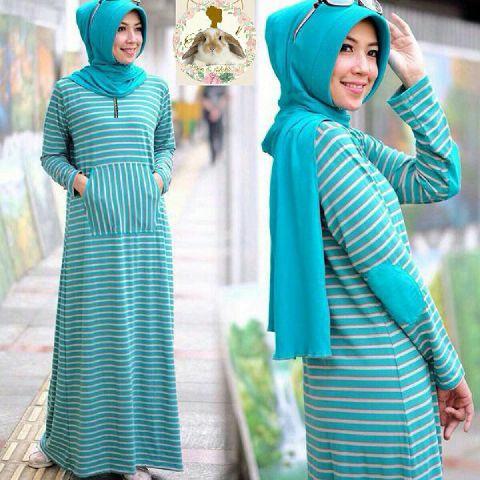 Hijab siffa Mint ( Maxi +pashmina pad + busui )