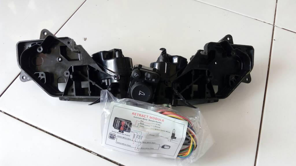 Autoretract spion lipat honda jazz 2008-2013