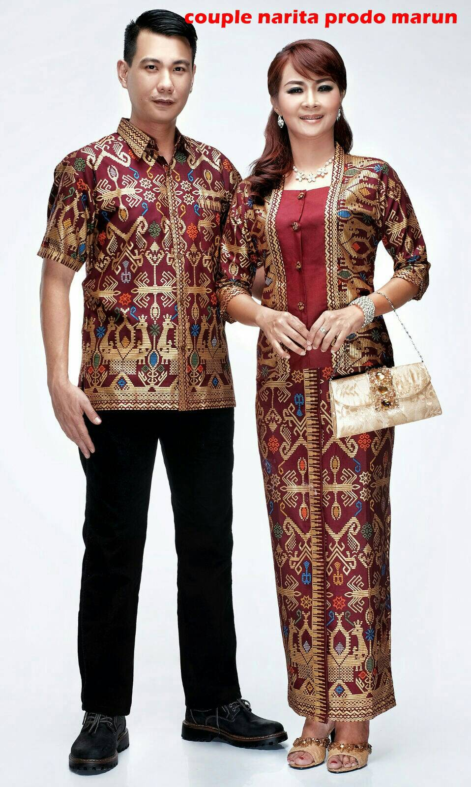 Desain Baju Batik Setelan Rok Panjang | Gejorasain