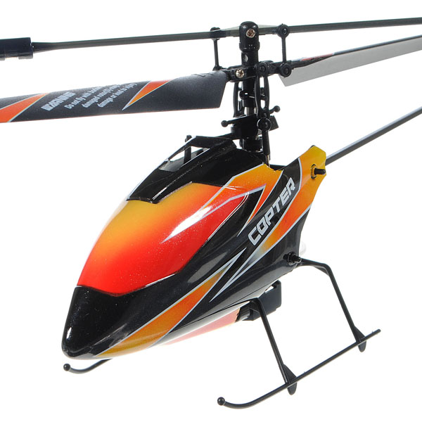 RC Helicopter Wltoys V911 4CH Micro BNF (No Transmitter)