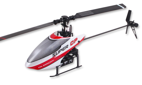 RC Helicopter Walkera Super CP 6CH 3D Flybarless With Devo 7E RTF