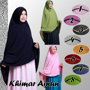 Hijab Khimar Ainun Pet Antem [PREMIUM]
