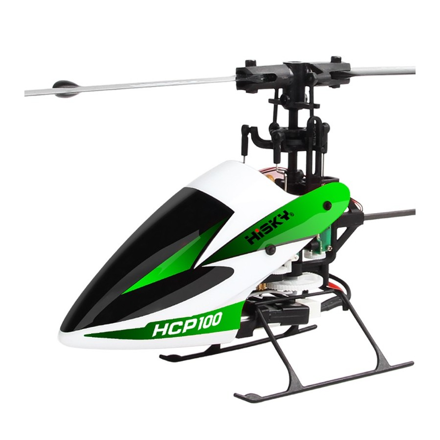 RC Helicopter HiSKY HCP100 FBL100 6CH 3D with X-6S Transmitter - RTF