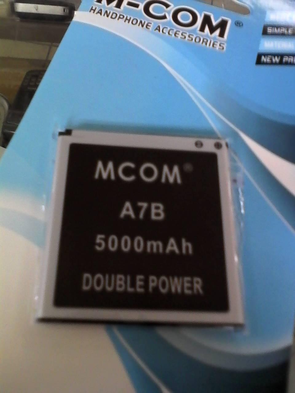 Jual Baterai Cross Evercoss A7b Double Power Merk Mcom Nitishop81 Tokopedia