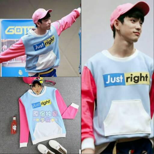 Jual sweater just right JR GOT7 - daehan.shop | Tokopedia
