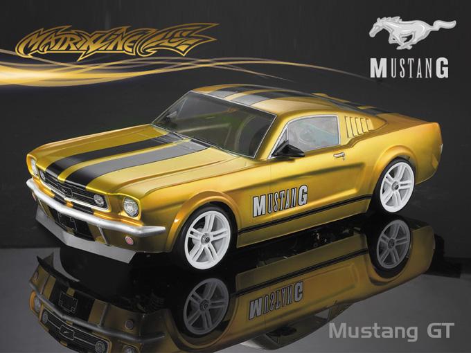 Matrixline Focus 66 Mustang GT Clear Body RC 1/10