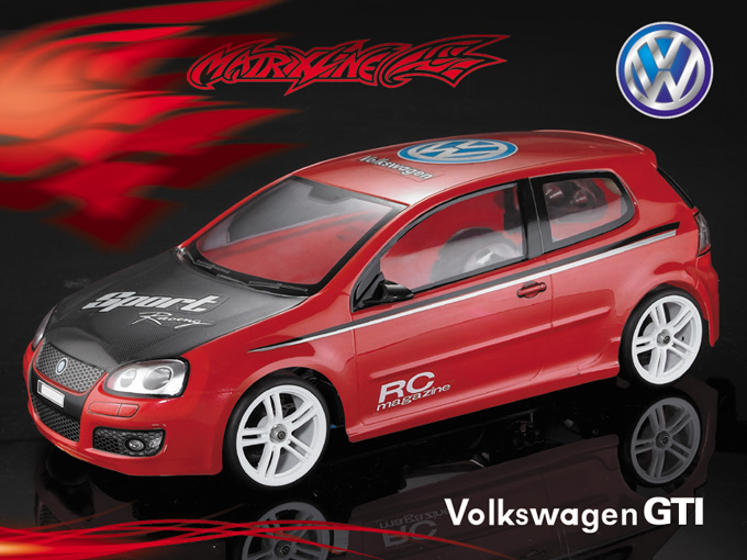 Matrixline Volkswagen GTI Clear Body RC 1/10