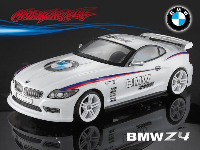 Matrixline BMW Z4 Clear Body 1/10