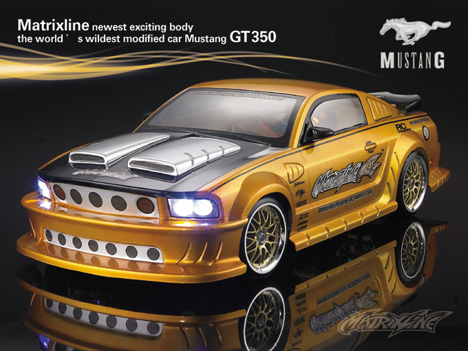 Matrixline Focus 66 Mustang GT350 Clear Body RC 1/10