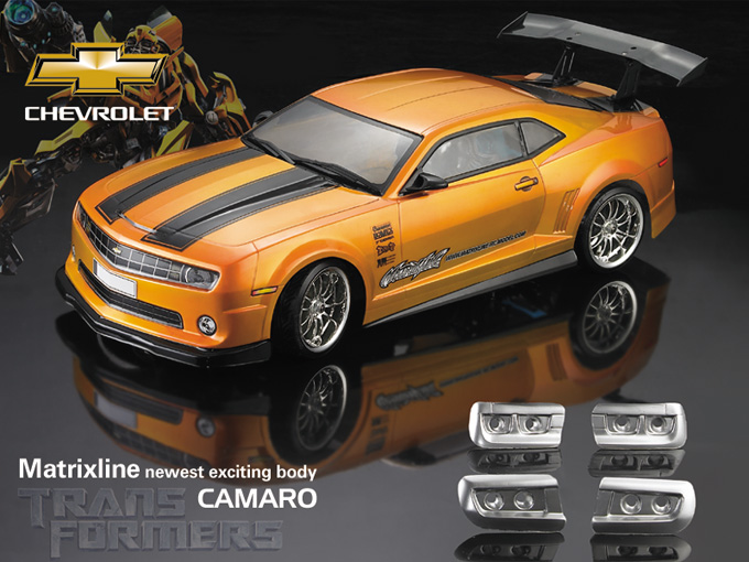 Matrixline PC201019 Chevrolet Camaro Clear Body RC 1/10