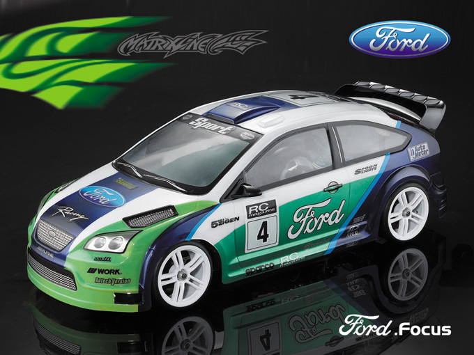 Matrixline Ford Focus Clear Body 1/10