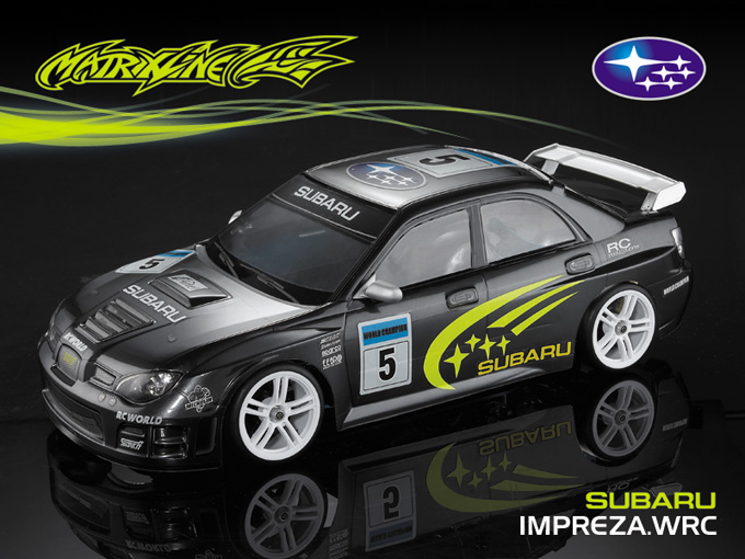 Matrixline Subaru Impreza WRC Clear Body RC 1/10