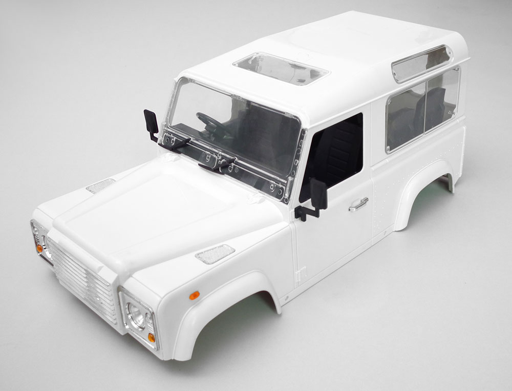RC4WD Land Rover Defender D90 Body Kit RC 1/10