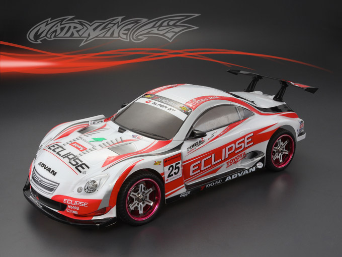 Matrixline PC201223 LEXUS SC430 DTM clear Body RC 1/10
