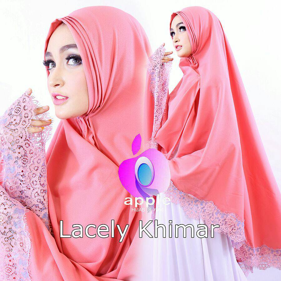 Lacely Khimar By Apple Hijab Brand