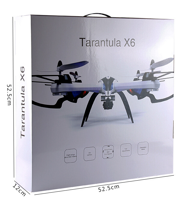 QUADCOPTER DRONE TARANTULA X6 BS FPV DGN KAMERA GOPRO ATAO XIAOMI 1