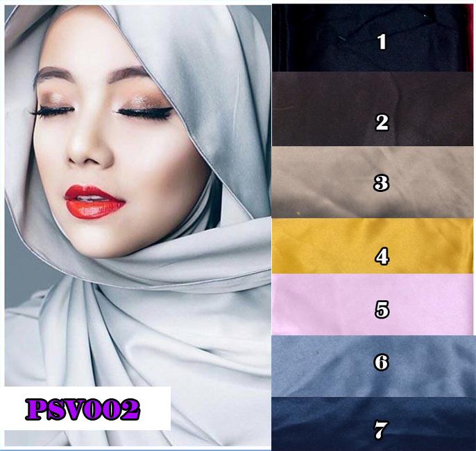 jilbab / hijab pashmina saten velvet