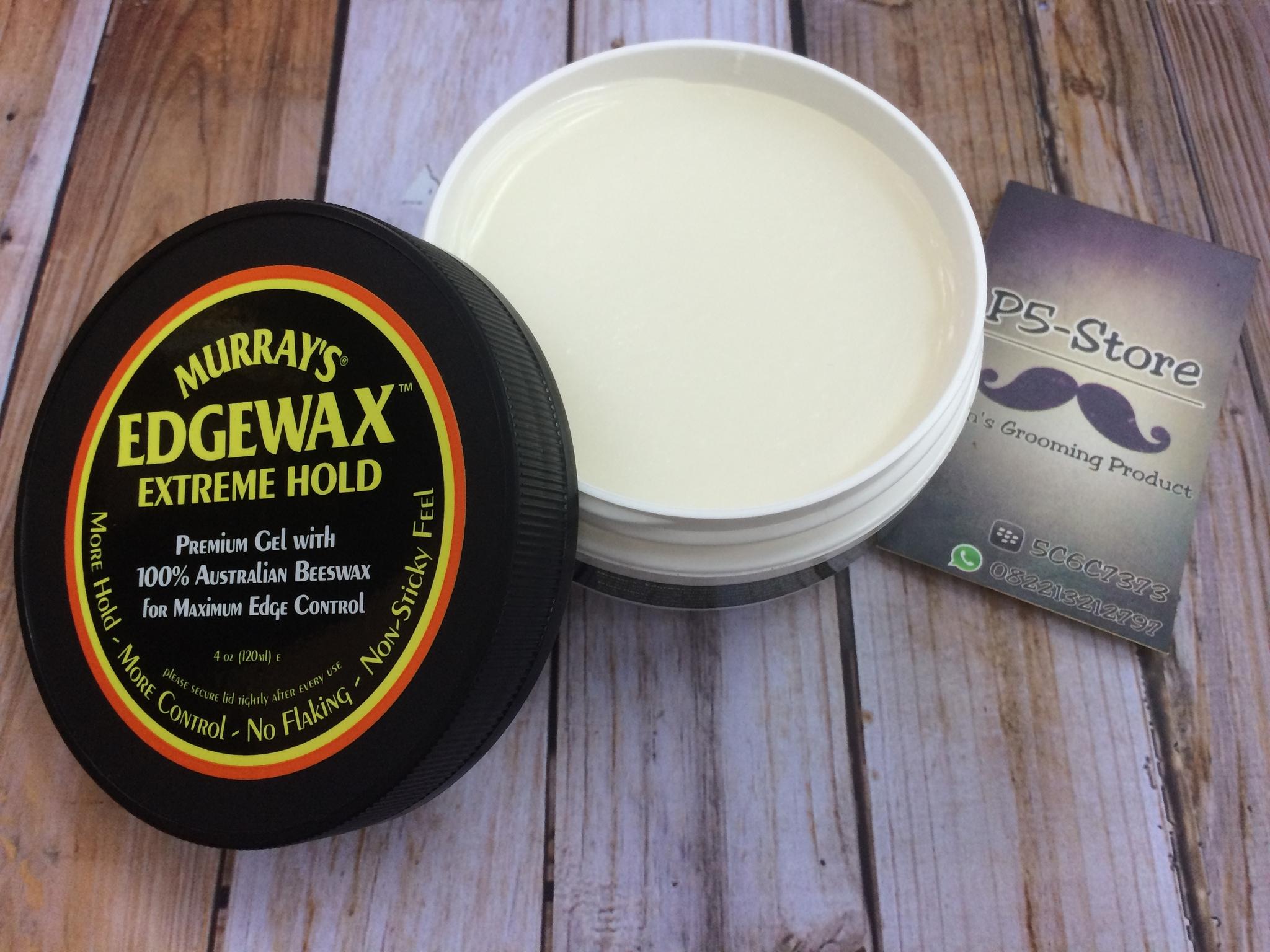 Murrays Edgewax Extreme Pomade 4 Oz Daftar Harga Terbaru Dan Water Based Original  Grosir Jual Murray S Waterbased Hold Panglima Store Tokopedia