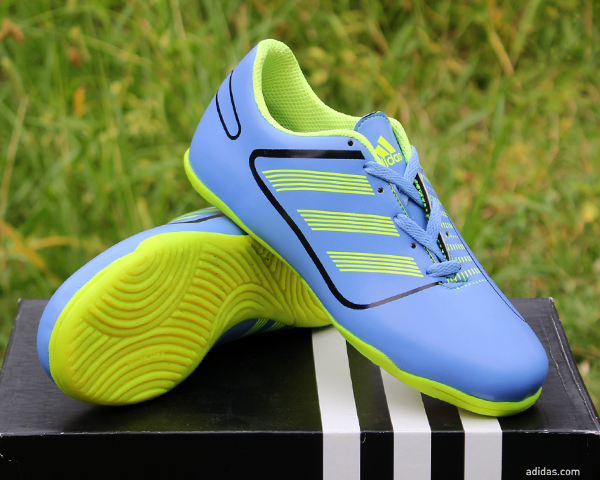 Jual Sepatu Futsal Anak Adidas Predator Birumuda Hijau New Kids ... 9aa6ce18c6