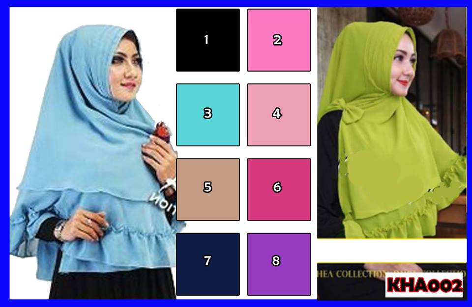 Hijab/Jilbab Instant Khimar Arabian