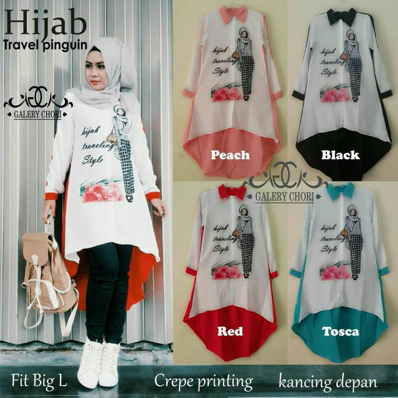Hijab travel pinguin