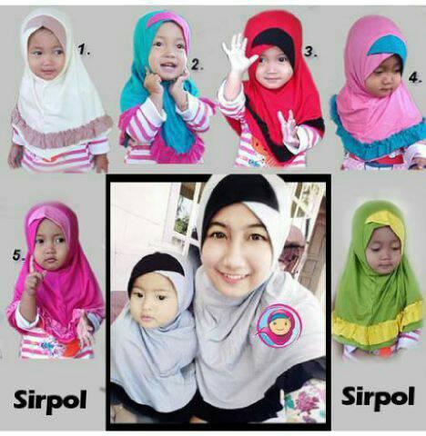 hijab couple mom n kids sirpol