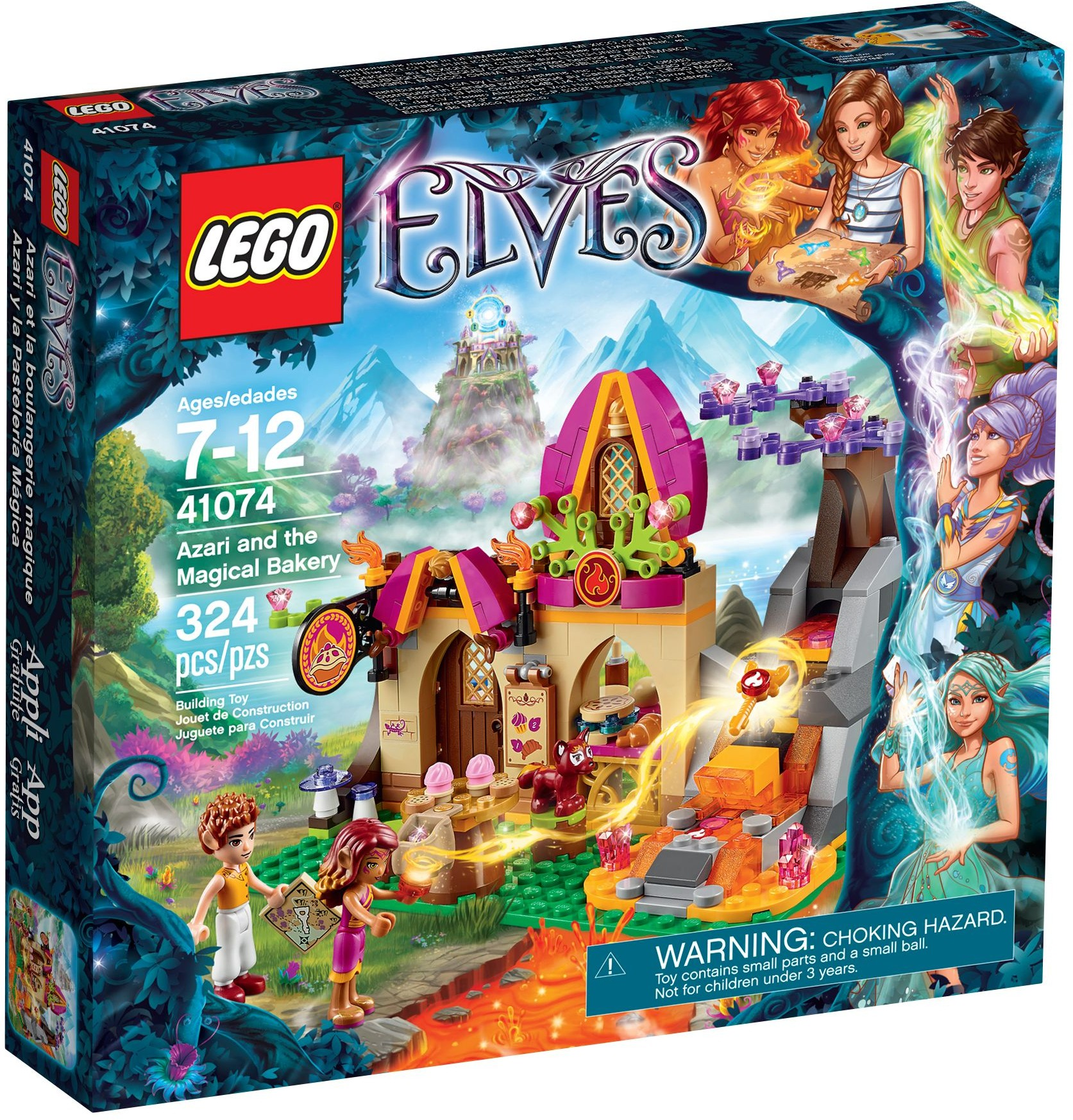 LEGO 41074 - Elves - Azari and the Magical Bakery