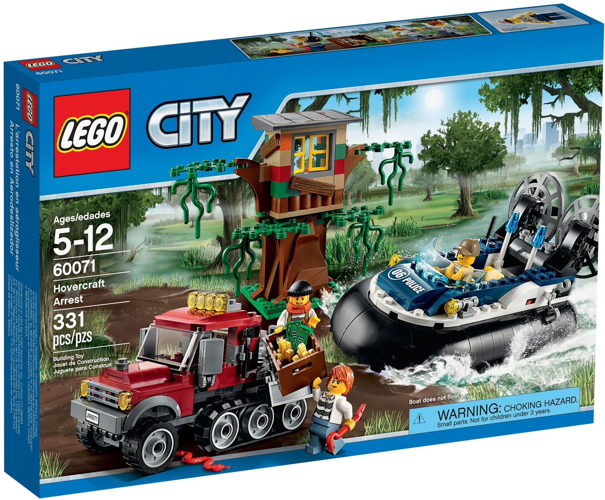 LEGO 60071 - City - Hovercraft Arrest