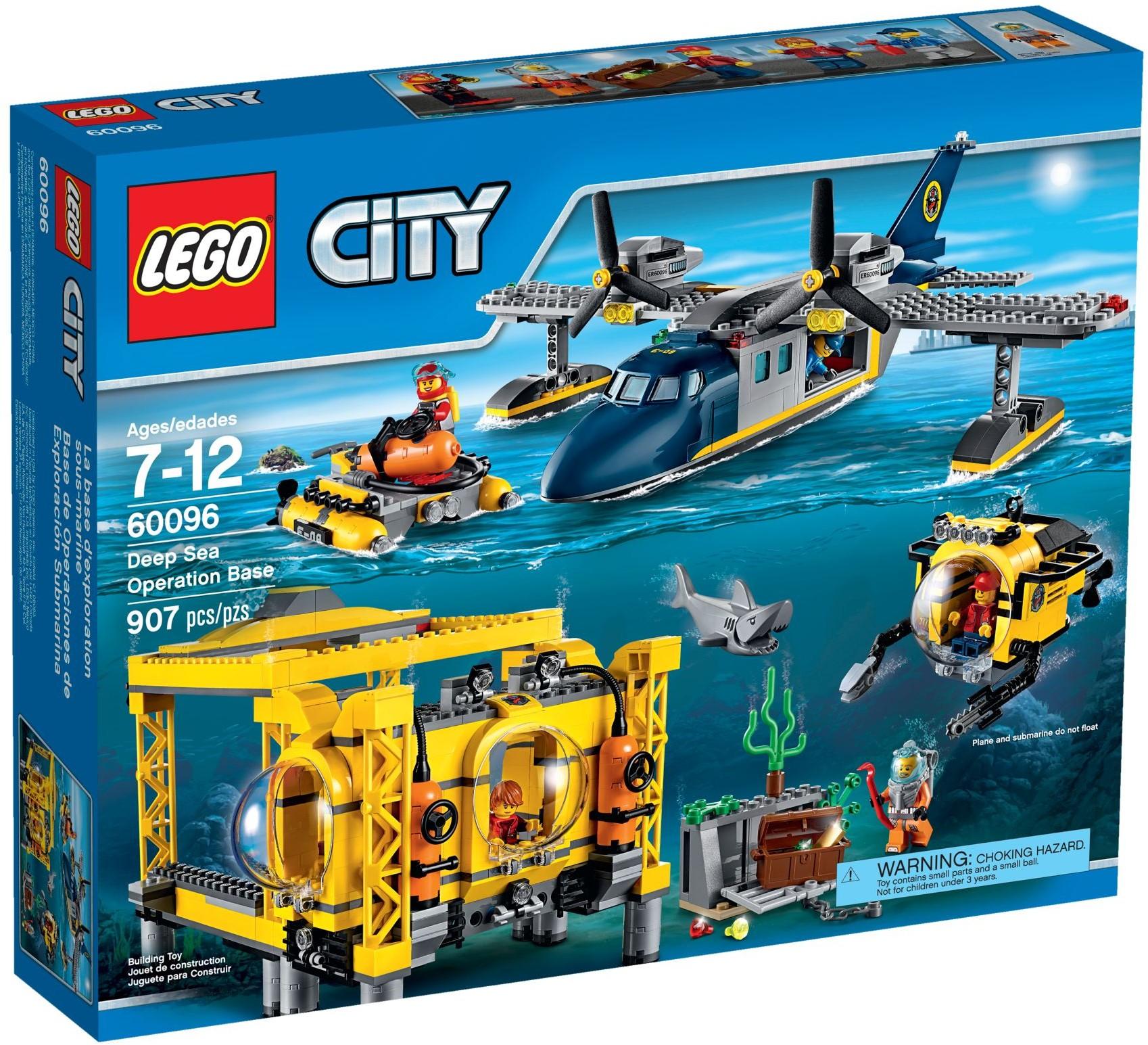 LEGO 60096 - City - Deep Sea Operation Base